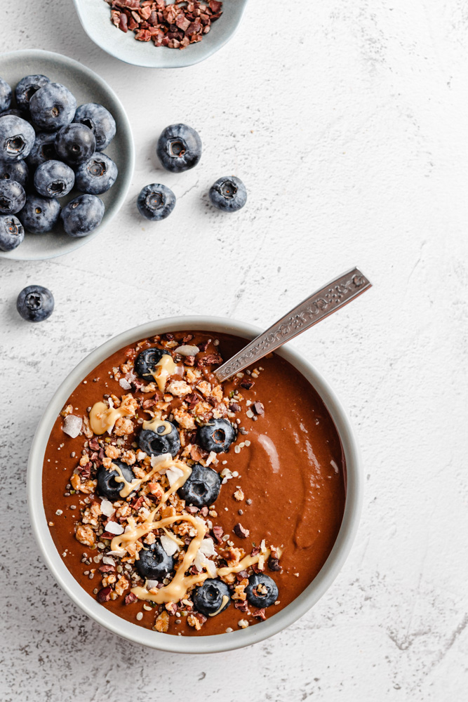 Smoothie With Cocoa And Protein