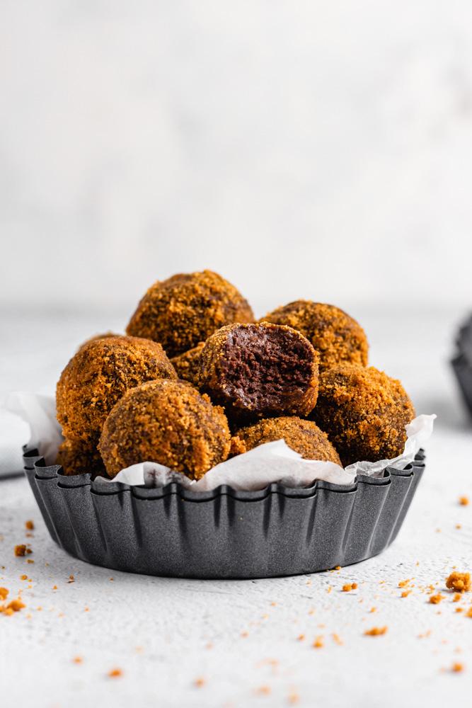 BISCOFF CHOCOLATE TRUFFLES (VEGAN)