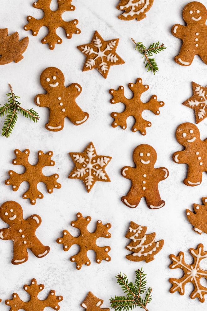 Headshot Of Gingerbread Cookies