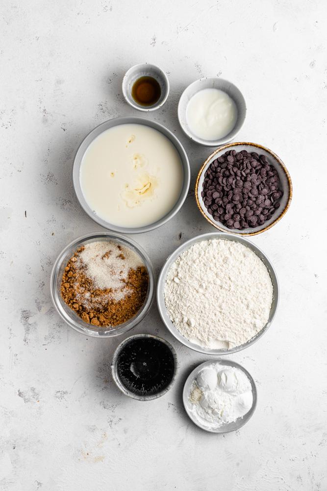 Ingredience na muffiny