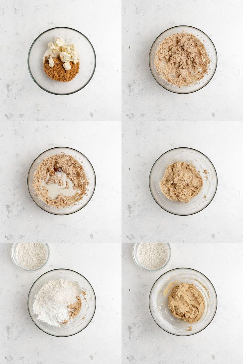 Udělejte těsto na sušenku