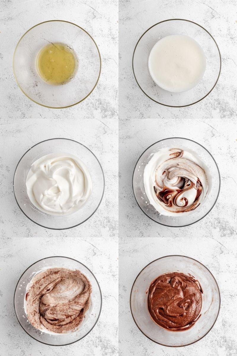Postup přípravy čokoládové pěny