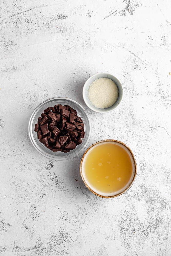 Ingredients For Vegan Chocolate Mousse