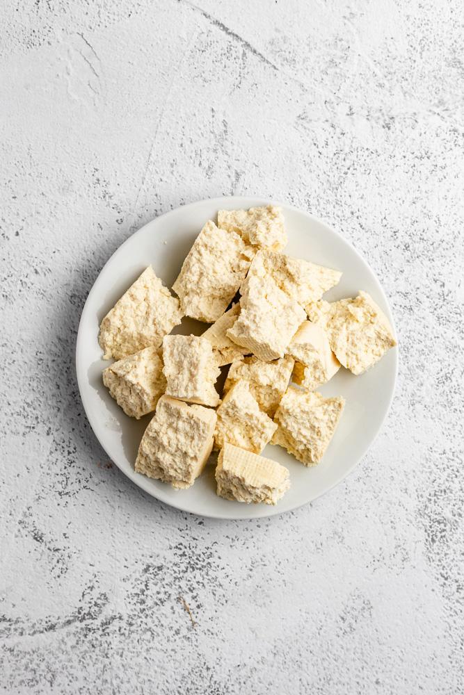 Rozlámané tofu