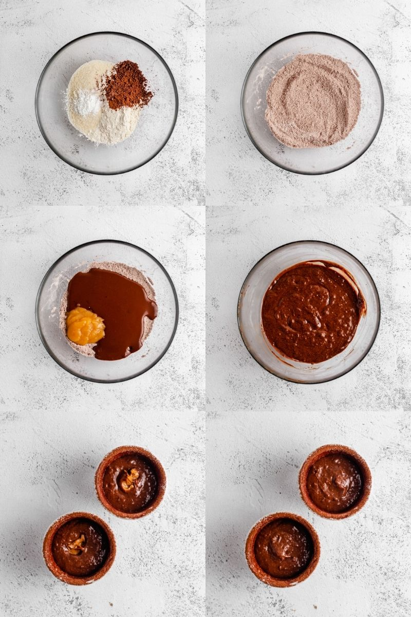 Lava Cake Recipe Steps