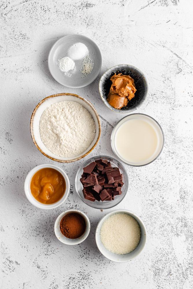 Ingredients For Vegan Lava Cake