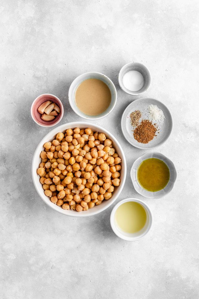 Ingredince na hummus