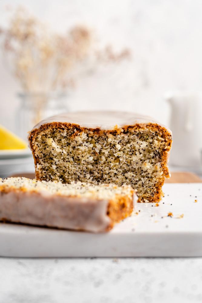 Close Up Of Lemon Cake