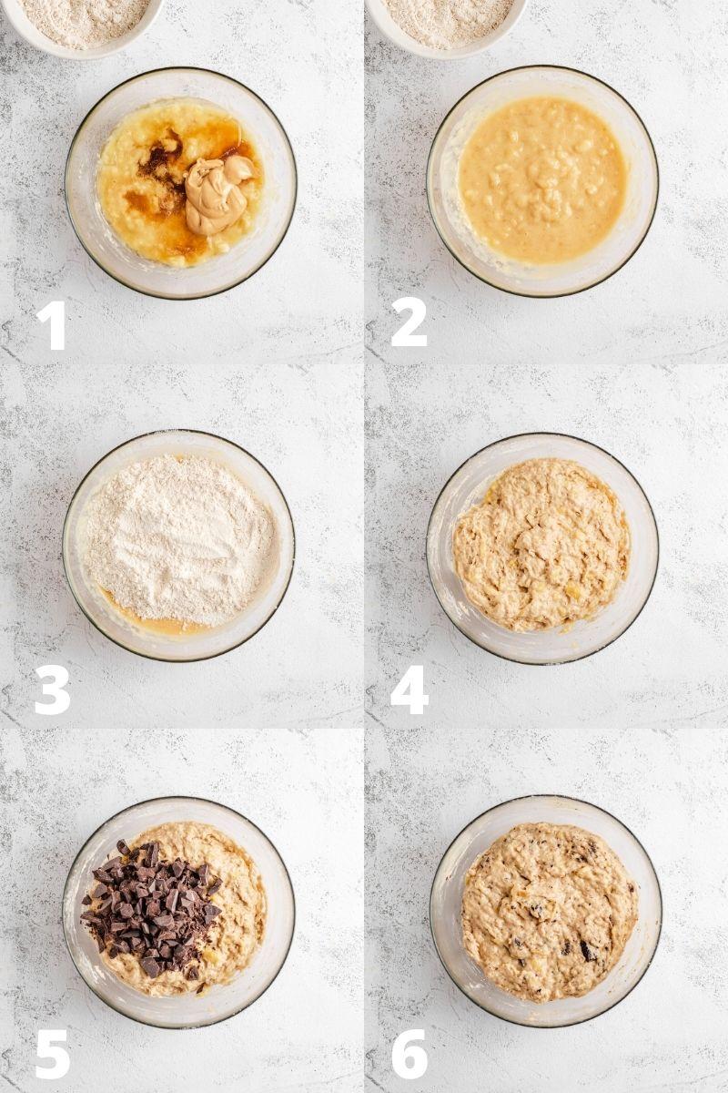 Banana Bread Batter Recipe Steps
