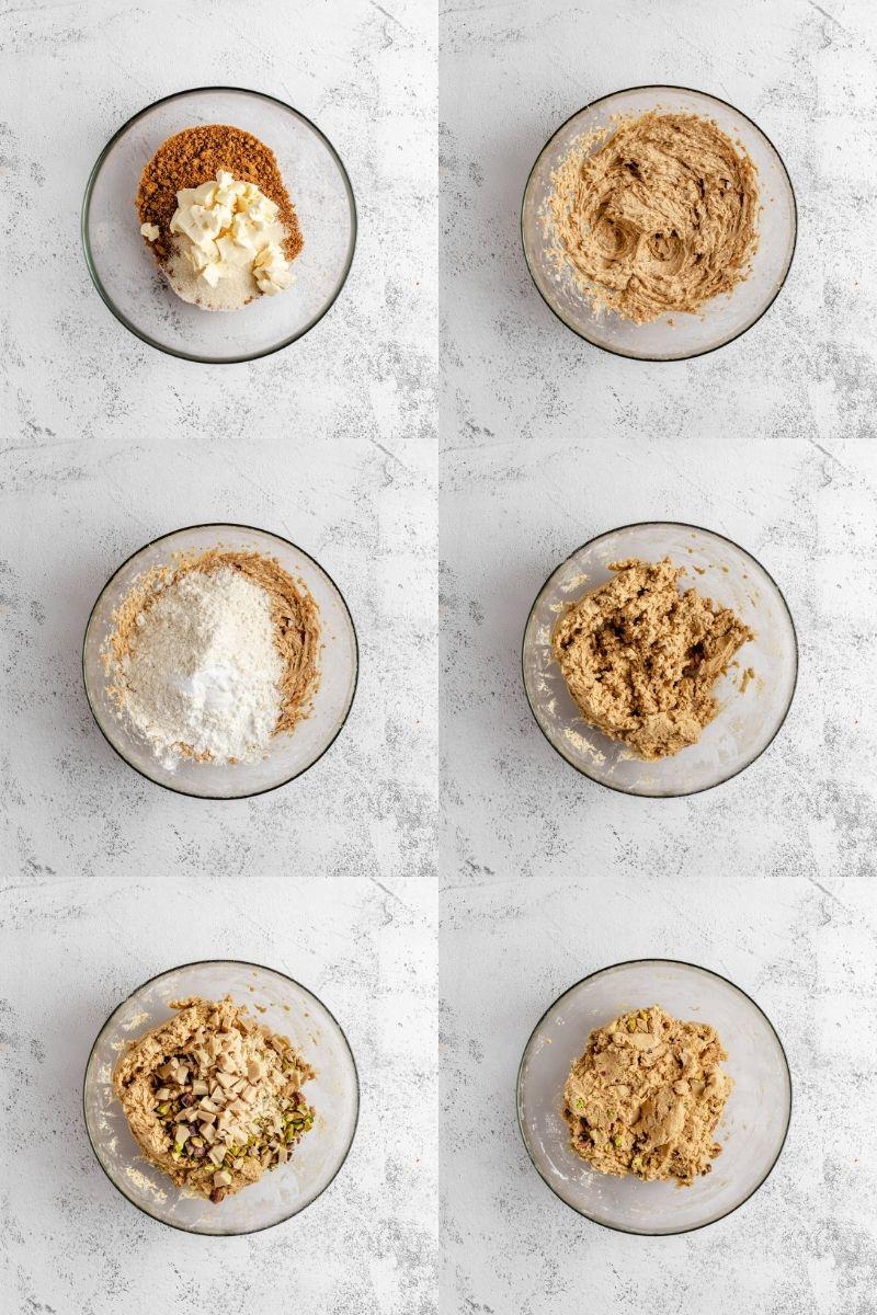 Cookie Dough Recipe Steps
