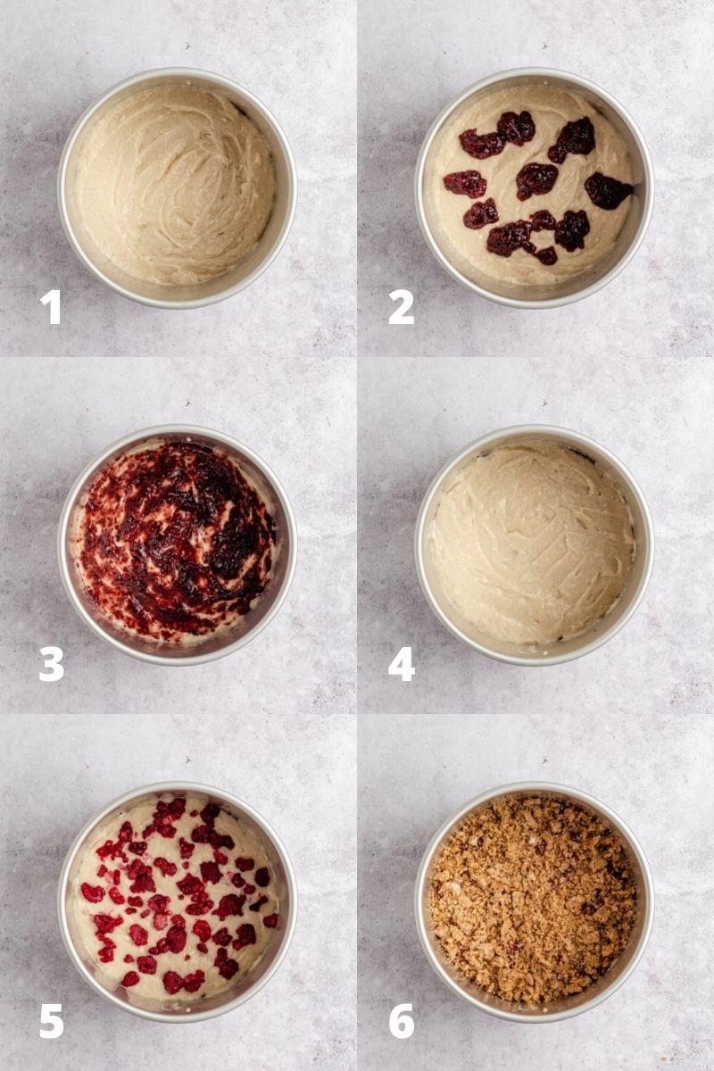 Vrstvení koláče