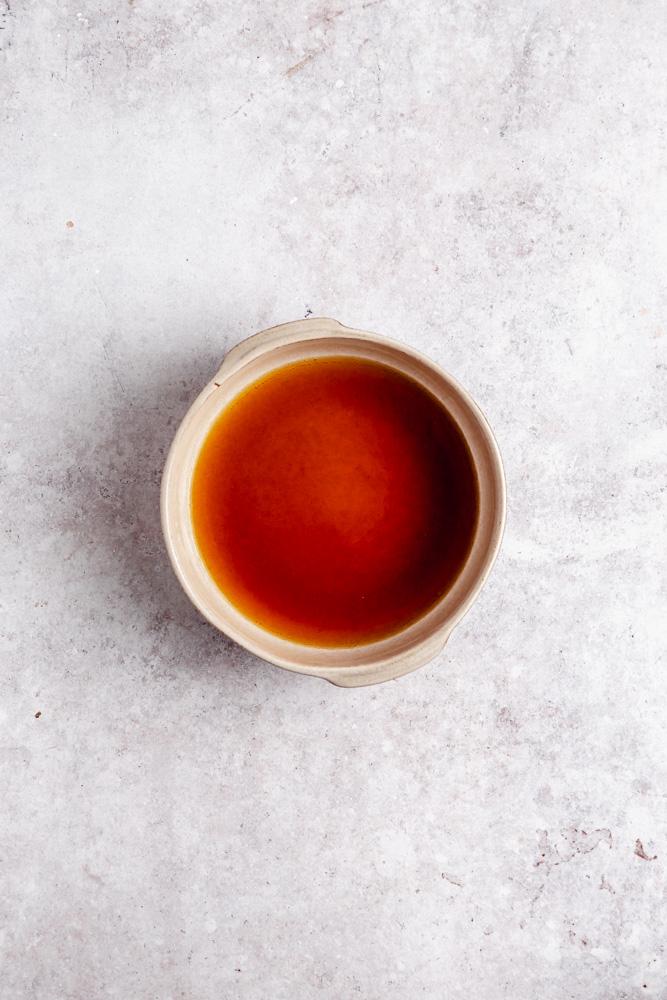Espresso směs v hluboké míse